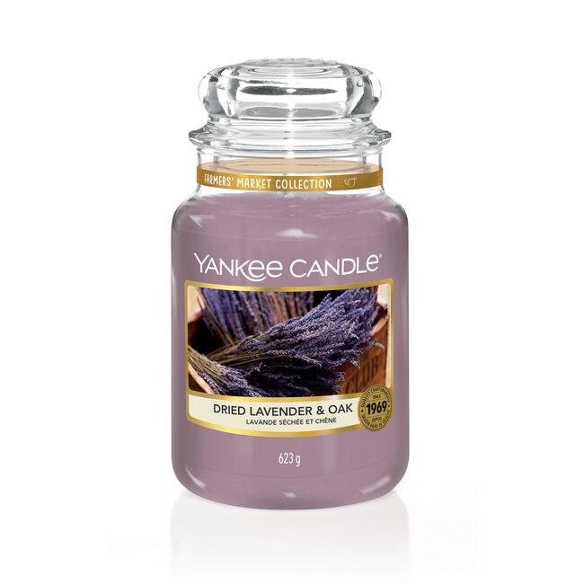 Yankee Candle Dried Lavender & Oak Large Jar