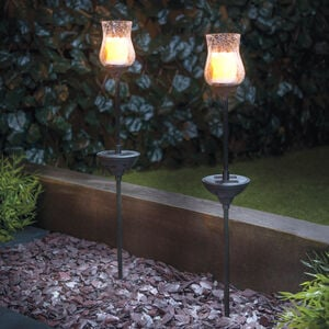 Candle Stake Solar Lights 2