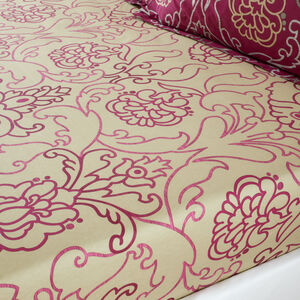 ANTOINETTE BERRY Single Fitted Sheet