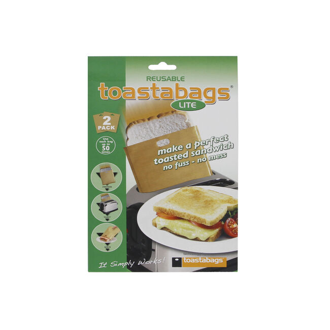 Toasta Bags Lite Reusable 2 Pack