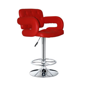 Clarendon Bar Stool Red
