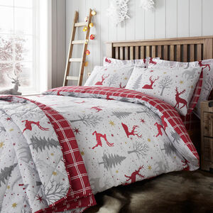SINGLE DUVET COVER Starry Stag