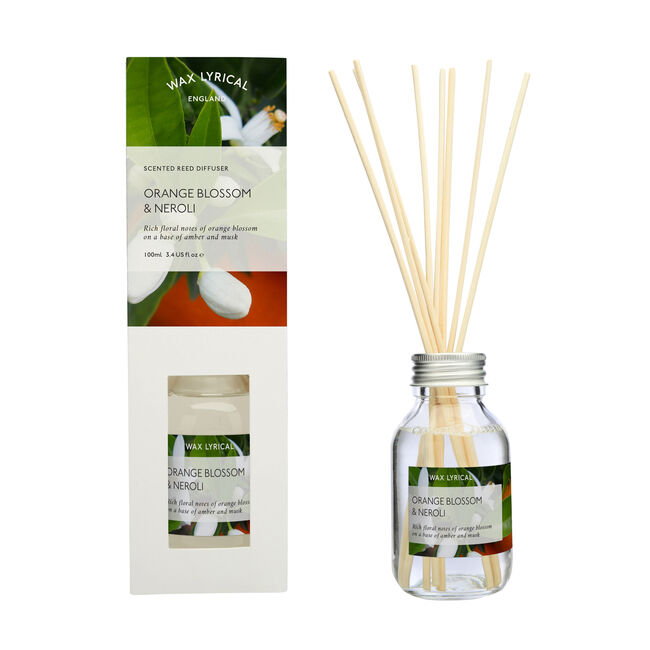 Orange Blossom and Neroli 100ml Reed Diffuser