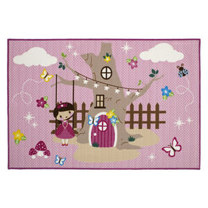 Fairy Forest Children's Floormat 100cm x 150cm