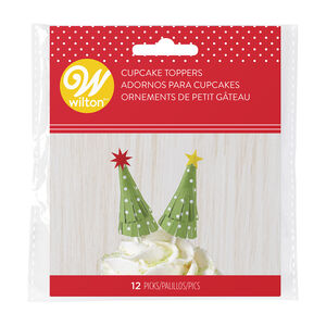Wilton Christmas Tree Stick Cake Toppers