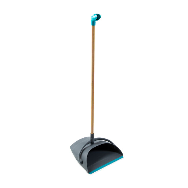 Gleam Clean Pristine Long Handled Dustpan & Brush