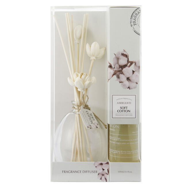Ambianti Soft Cotton Reed Diffuser