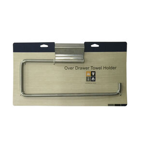 Over Drawer Stainless Steel Towel Holder