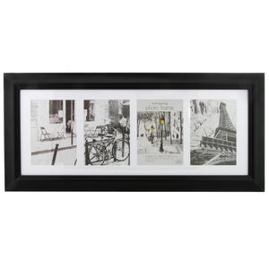 Simply Black Photo Frame Collage