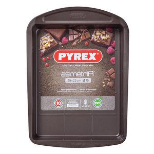 Pyrex Asimetria Brownie Pan 28cm x 22cm