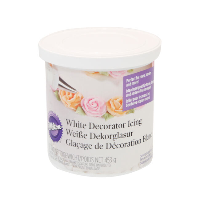 White Decorator Icing Ready To Use