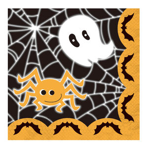 Halloween Characters 12 Pack Napkins