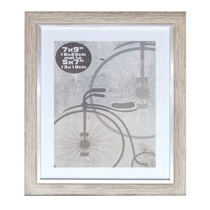 Silver Grey Photo Frame  5x7""
