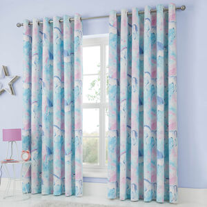 MYSTICAL UNICORN 66x72 Curtain