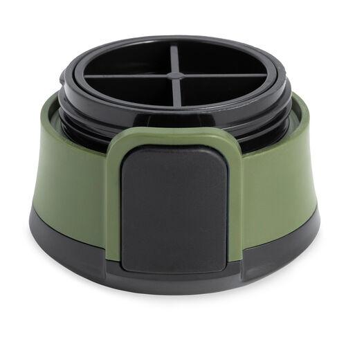 BodyGo Deep Green Vacuum Travel Mug 350ml