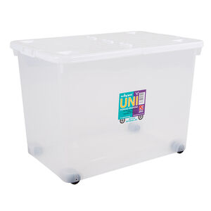 Storage Container with Wheels 80 Litres