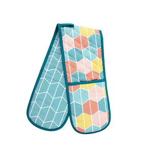 Griffen Double Oven Glove - Teal
