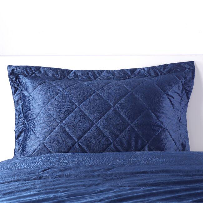 Allegra Pillowshams 50x75cm - Navy
