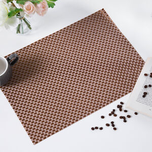 Tabby Weave Placemat - Gold