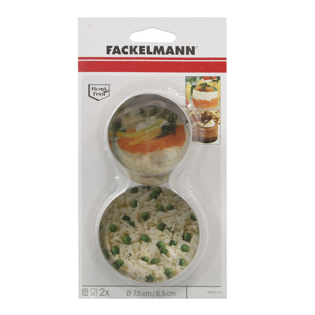 Food Presentation Rings 2 Pack