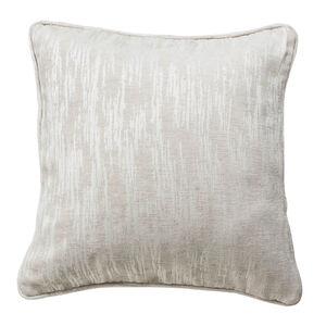Davy Chenille Natural Cushion 45cm x 45cm