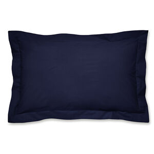Luxury Percale Oxford Pillowcase Pair - Navy
