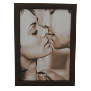Photo Frame Brown A4