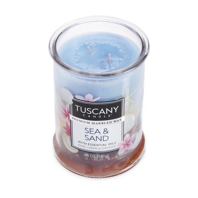 Tuscany Triple Pour Candle Sea and Sand