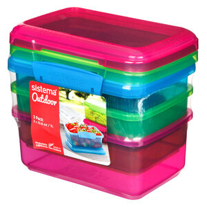 Sistema Outdoor 3x1 Litre Lunchbox Pack