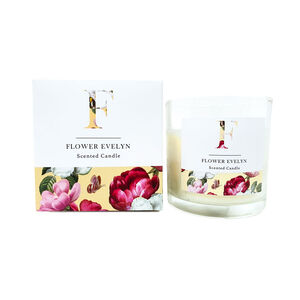 Floral Flower Evelyn Scented Candle