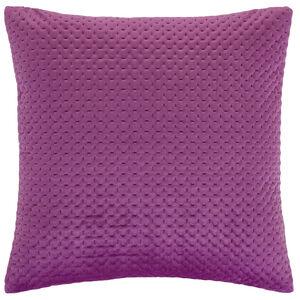 Velour Stitch Cerise 58x58 Cushion