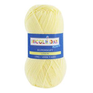 Nicole Day Kids Supersoft Lemon Yarn