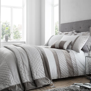 SINGLE DUVET COVER Classic Velvet Silver