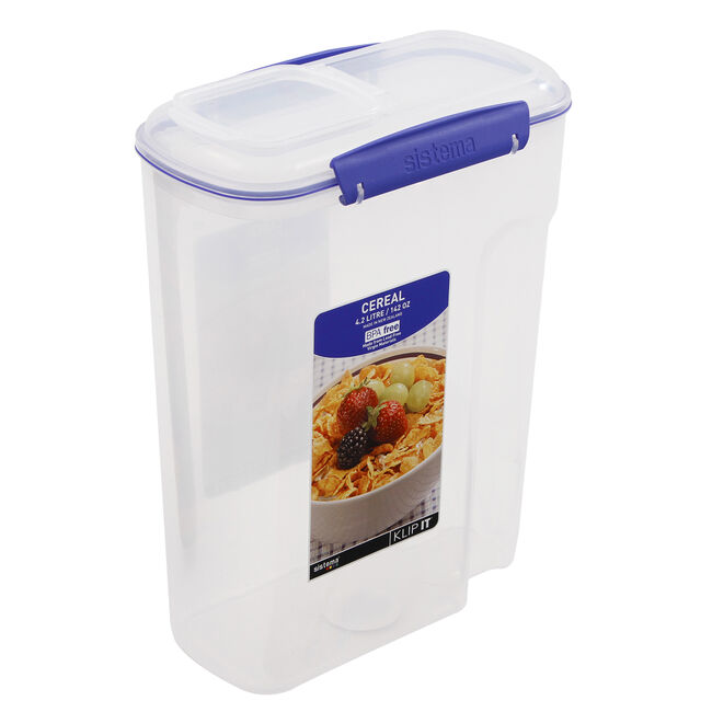 Klip It Airtight Cereal Dispenser Large
