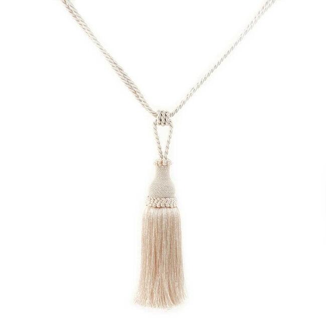 Elegance Medium Rope Cream Tieback