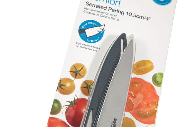 Zyliss Comfort Serrated Knife 10.5cm