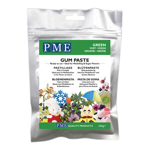 PME Gum Paste 200g - Green