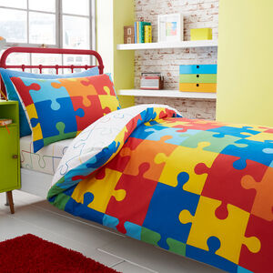 JUNIOR BED DUVET COVER Jigsaw
