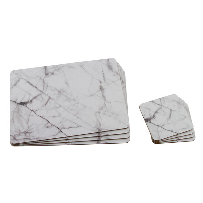 Marble Mats & Coasters 4 Pack