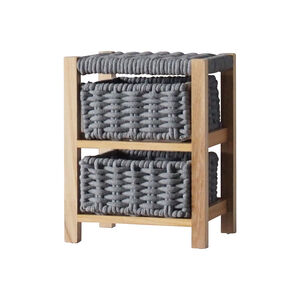 Classic Knit 2 Drawer Unit - Grey