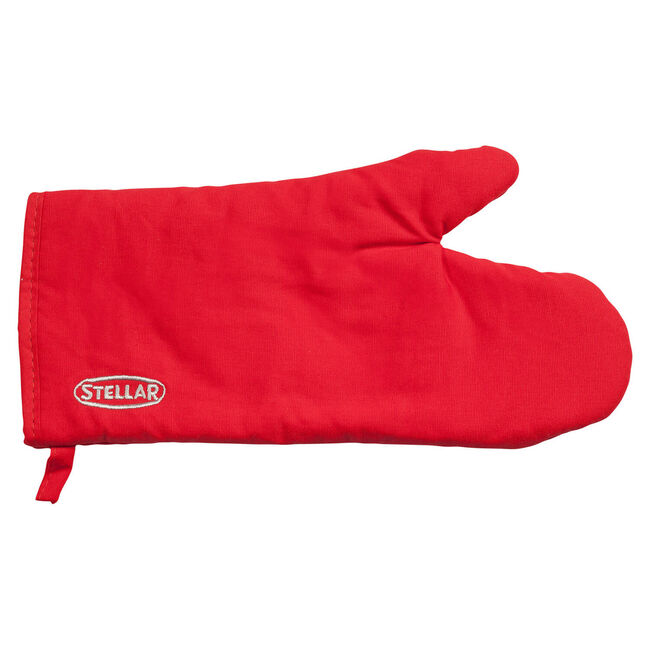 Stellar Thermal Resistant Oven Glove Red