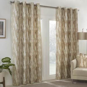 ETCH NATURAL 66x54 Curtain