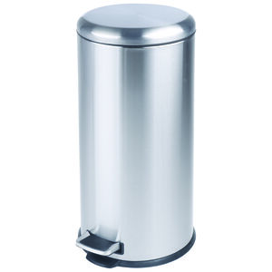 Forma 30L Brushed Stainless Steel Pedal Bin