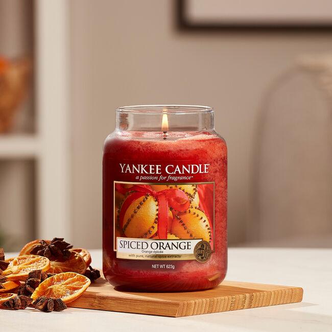 Yankee Candle Spiced Orange Large Jar