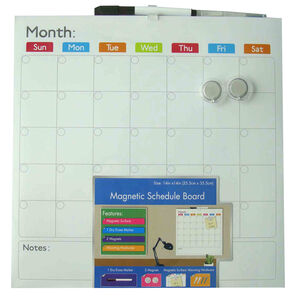 Magnetic Monthly Planner 36cm x 36cm