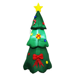 Inflatable Light Up Christmas Tree.- 1.2M