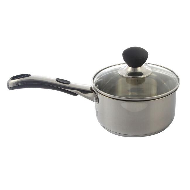 Easy Grip Saucepan with Lid 16cm