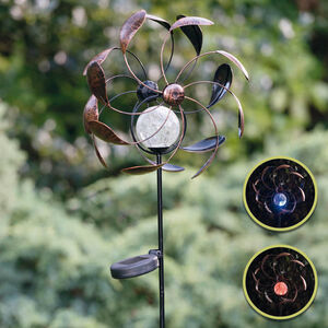 Illuminated Solar Wind Spinner