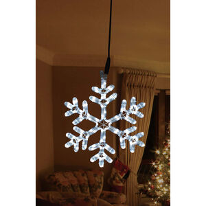 Giant Christmas Snowflake Rope Light