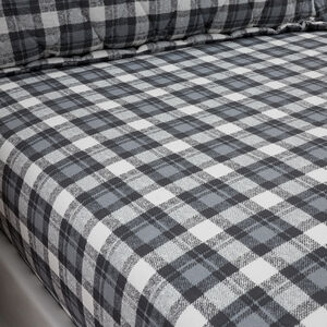 JACK CHARCOAL Single Fitted Sheet